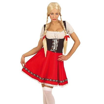 NET TOYS Disfraz Tradicional tirolés Heidi Traje: Amazon.es ...