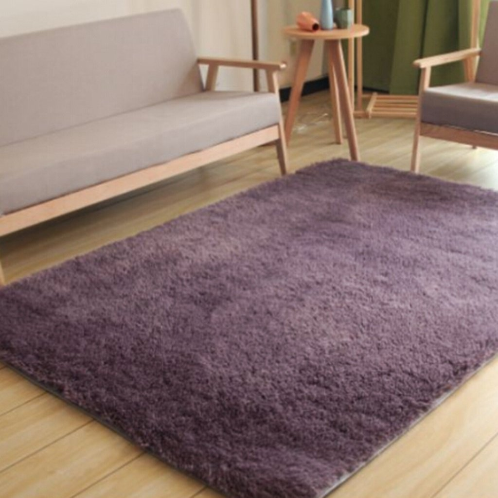 Teppich Wohnzimmer Vlies Modern Schlafzimmer Couchtisch Sofa Zimmer Nachttisch Heimteppich Pastoralen Stil (Farbe : C , Größe : 80  160cm)