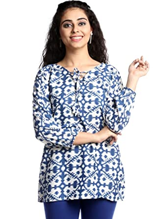 8958d0b52b0122 Zakozee Cotton Women Tunic Short Top Jeans Daily wear Stylish Casual  Western Wear Women/Girls: Amazon.in: Clothing & Accessories