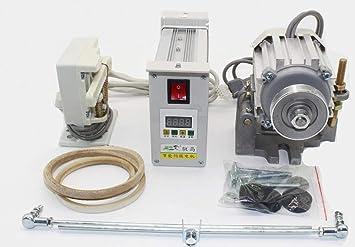 T-king máquina de coser de bajo consumo Servo Motor en lugar de ...