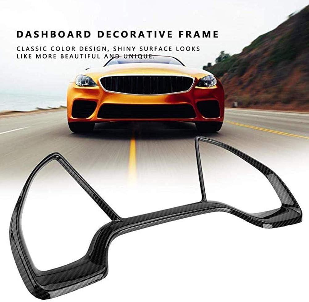 Carbon fiber style Dashboard Decorative Frame For Honda 10th 16-18 Civic