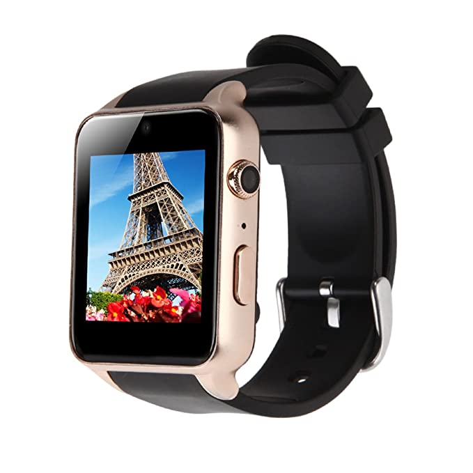 GBB GT88 Smart Watch Sim And TF Card Bluetooth NFC Connectivity Sports Watch with Heart Rate Monitor,Touch Screen and Magnetic Charging Health ...