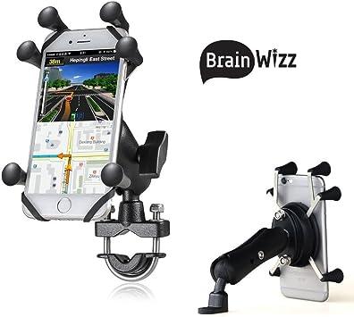 BRAINWIZZ Soporte de Smartphone para Moto/Scooter/Bicicleta ...