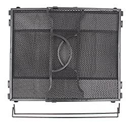 EasyPAG Letter Size Mesh Office File Organizer Storage Box for 12 x 9-1/4 inch , Black