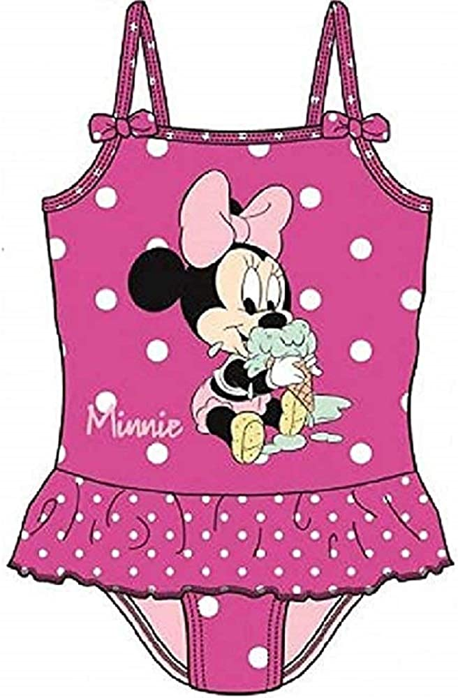 Available in 4 Sizes Cactus Clone Disney Baby Minnie Mouse Swimsuit Dark Pink