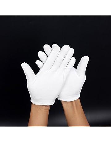 low priced 5cfd6 47a94 Gants En Coton Blanc Non Pelucheux Pour Les Fanfares, Les Tenues De  Cérémonie Ou