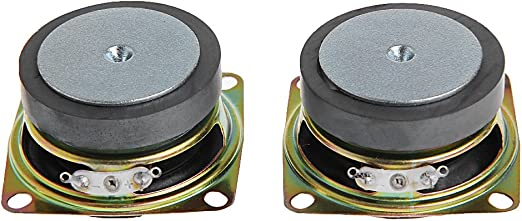 2pcs 40hm 3W Full-range Audio Stereo Speaker 40mm Loudspeakers Woofer Pro New UP