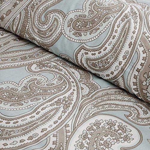 Madison Park Pure MPP10-001 Ronan 5 Piece Cotton Comforter Set, Blue