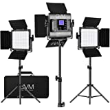 GVM RGB LED Video Lighting Kit, 800D Studio Video Lights with APP Control, Video Lighting Kit for YouTube Photography Lightin