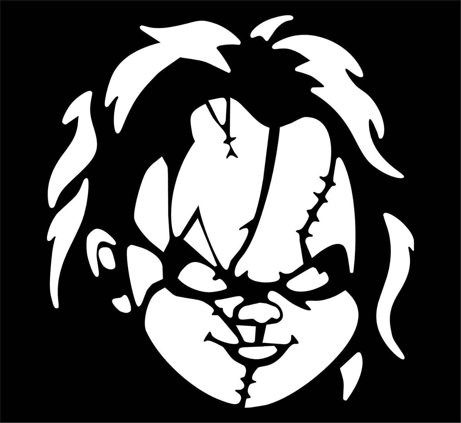 Chucky Decal FREE US SHIPPING
