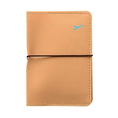2732343ed KUKICAT Travel Leather Passport Holder Card Case Protector Cover Wallet Bag  Khaki  Amazon.co.uk  Shoes   Bags