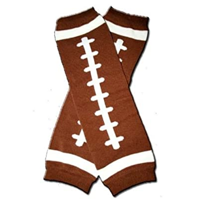 FOOTBALL Baby Leggings/Leggies/Leg Warmers for Cloth Diapers - UNISEX & ONE SIZE