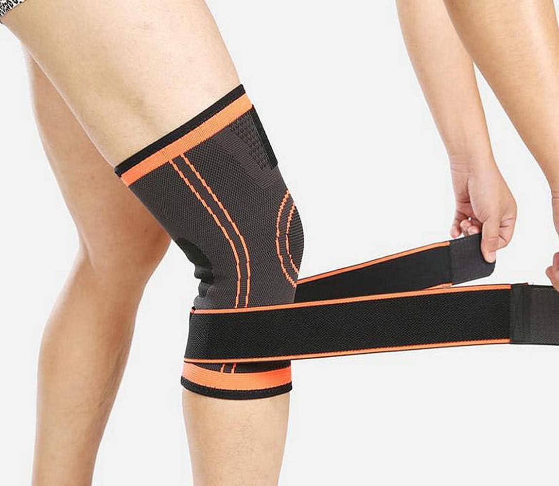 NIGOLS Supporto per Ginocchio gambaletto a Compressione Premium con Brace Regolabile per la Riabilitazione dellartrite per Uomini e Donne