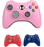 Bek Design Wireless Controller Game Pad Color for Xbox 360 (Pink)