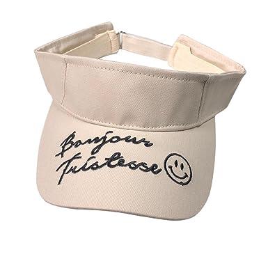 8d0cab30753 Vertily Hat Unisex Empty Top Plain Golf Tennis Sports Adjustable Baseball  Cap (Beige) at Amazon Men s Clothing store