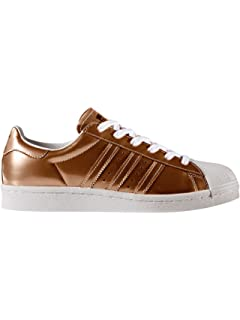 best sneakers c5023 e6c07 adidas Womens Originals Superstar Boost Trainers in Copper Metallic