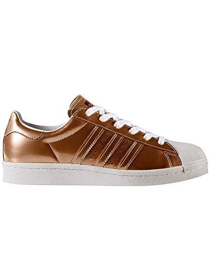 best service aaf02 96784 adidas Womens Originals Womens Superstar Boost Trainers in Copper - UK 3.5  Braun