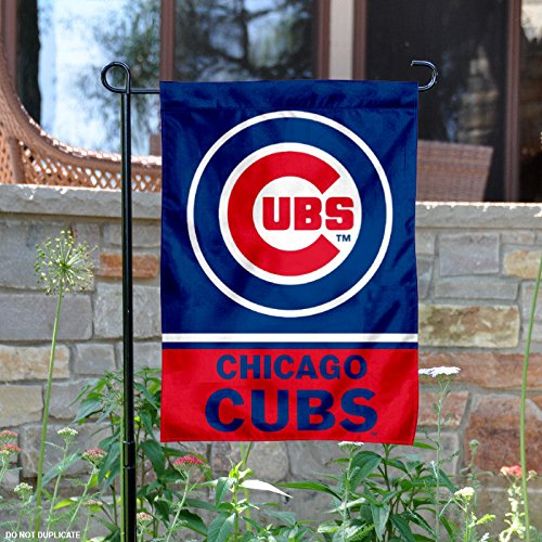 Price comparison product image Chicago Cubs Double Sided Garden Flag