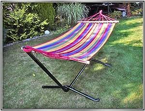 P 45–Hamaca colgante para tumbona de jardín 100x 200cm