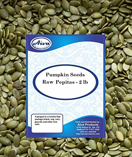 AIVA Pumpkin Seed Raw, Pepita - 2 Pound by AIVA