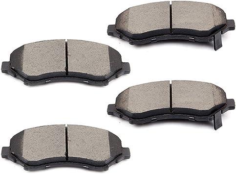 Fits 2009 2010 2011 Nitro Journey Liberty Routan Front Ceramic Discs Brake Pads