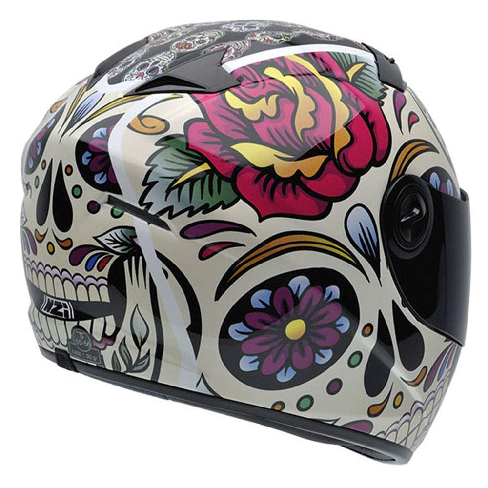 Mexican Skulls,Grande NZI Must II Graphics Casco De Moto