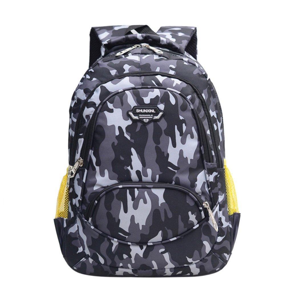 Schule Rucksack für Teenager Schüler Schule Tasche Outdoor Daypack Camouflage