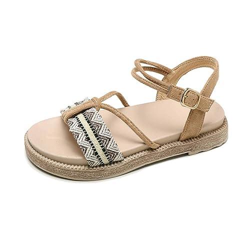 a20ffe3185b50 Amazon.com | VESNIBA LLC Ladies Sliders Slippers, Womens Cute Faux ...