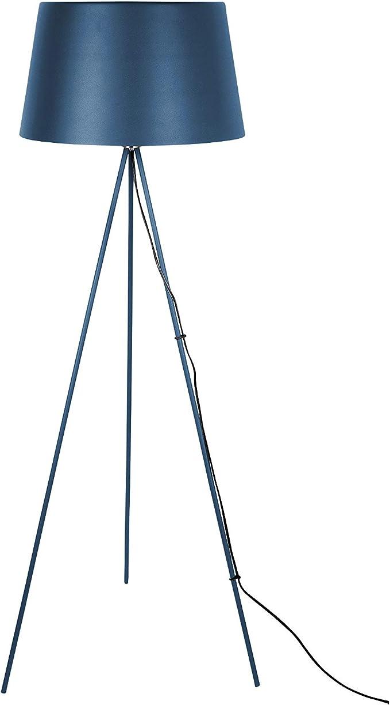 Pt Living Floor Lamp Classy Metal Dark Blue Amazon Co Uk Lighting