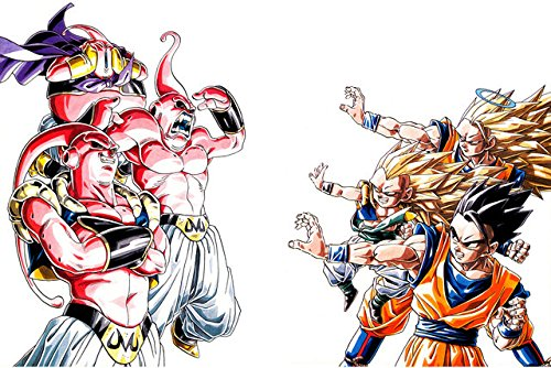 U Like Dragon Ball Z Anime Comic Silk Scroll Posters Home De