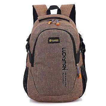 Mochila Backpack Daypack Bookbag Al Aire Libre Estudiantes Masculinos y Femeninos Mochilas Escolares Viajes de Placer Deportes C: Amazon.es: Deportes y aire ...