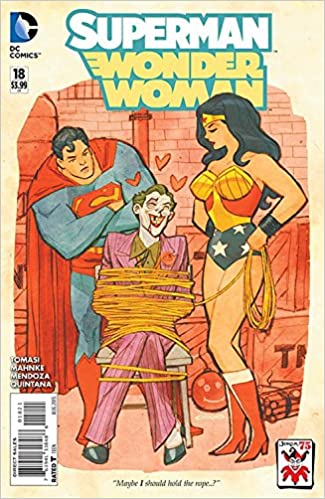 Superman Wonder Woman #18 the Joker Variant Cover: Amazon ...