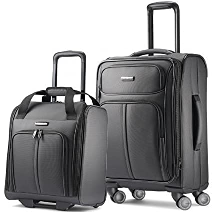 f3f9279f4e95 Image Unavailable. Image not available for. Color  Samsonite Leverage LTE  Wheeled Boarding Bag ...