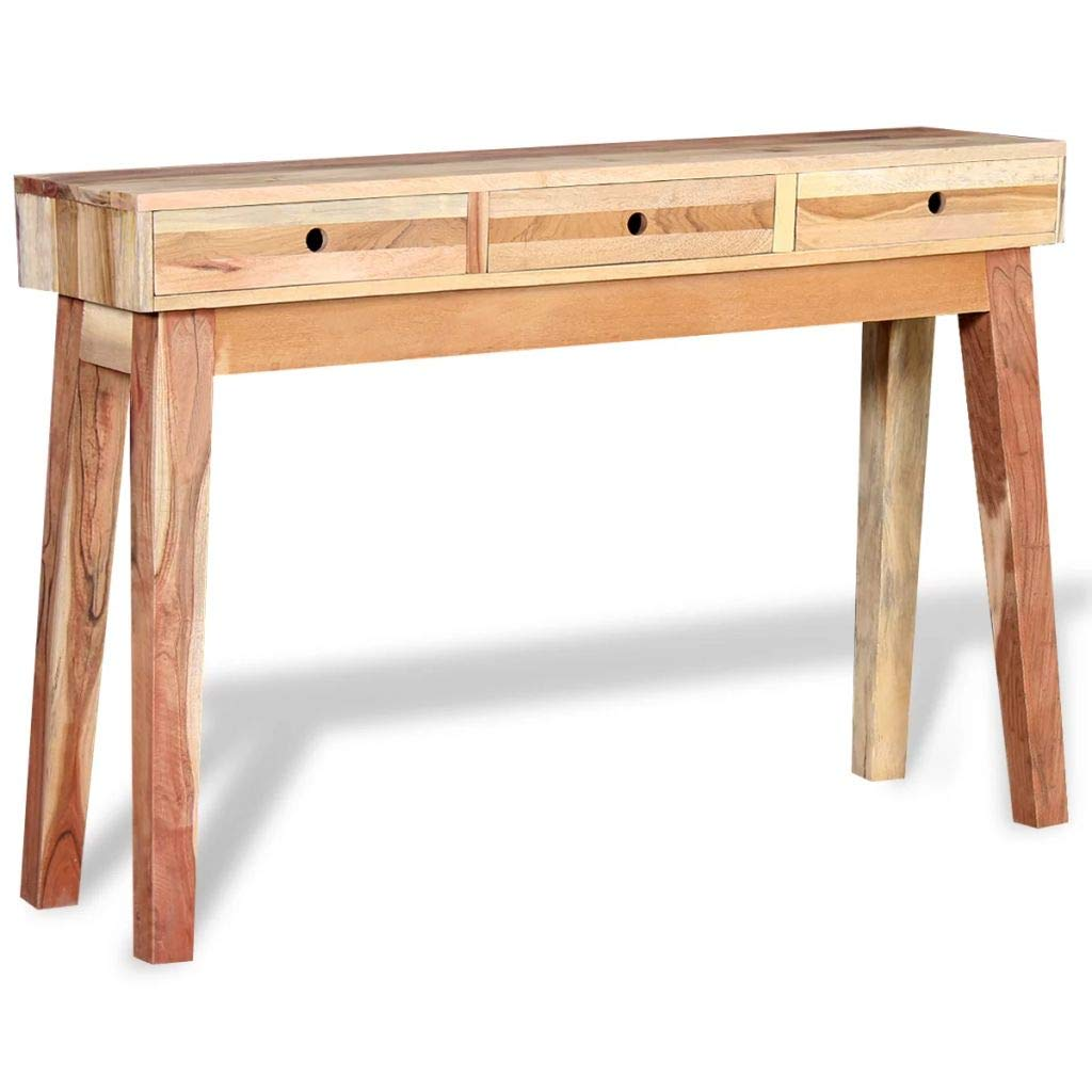 Amazon.com: K&A company Console Table Solid Reclaimed Wood ...