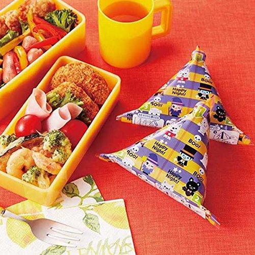 Halloween bento box Onigiri food wrapping (Cute Halloween Bento)