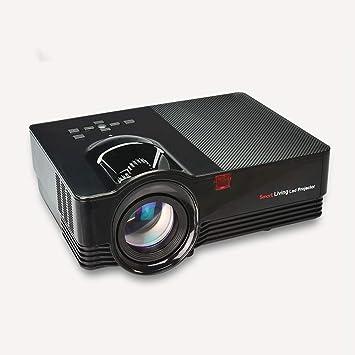 GoYisi Proyector LED, VS67 1800ANSI Lúmenes HD1920 * 1080P LED + ...