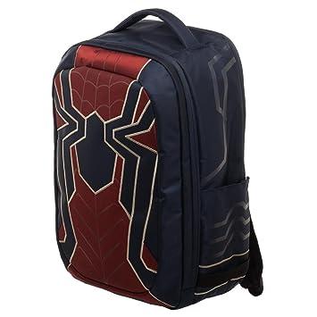 Bioworld Marvel Avengers: Infinity War Iron Spider Built Up Laptop Mochila: Amazon.es: Juguetes y juegos