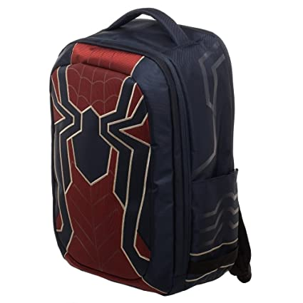 Amazon.com: Avengers: Infinity War Iron Spider Built Up Laptop Backpack Standard: FUNcom