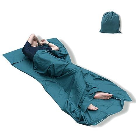 Qomolo - Forro para saco de dormir, ligero y suave, saco de dormir para