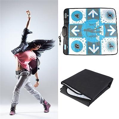 El más nuevo Anti Slip Dance Revolution Pad Mat Dancing Step para Nintendo para WII para PC TV más caliente Party Game Accessories: Videojuegos