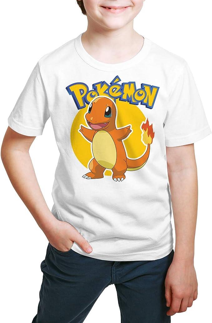 Camiseta Niño - Unisex Pokémon, Charmander: Amazon.es: Ropa y accesorios