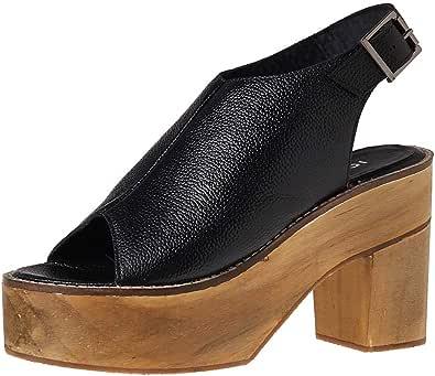 Ichi-20106224-Women-Sandals-Black-41 EU, Black, 41 EU