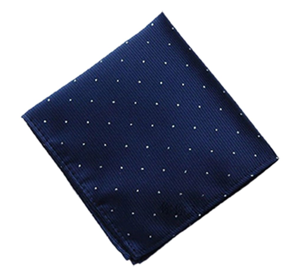 Driew Pack of 7 Men Pocket Square Satin Handkerchief Hanky with Polka Dot Pattern by Driew (Image #4)