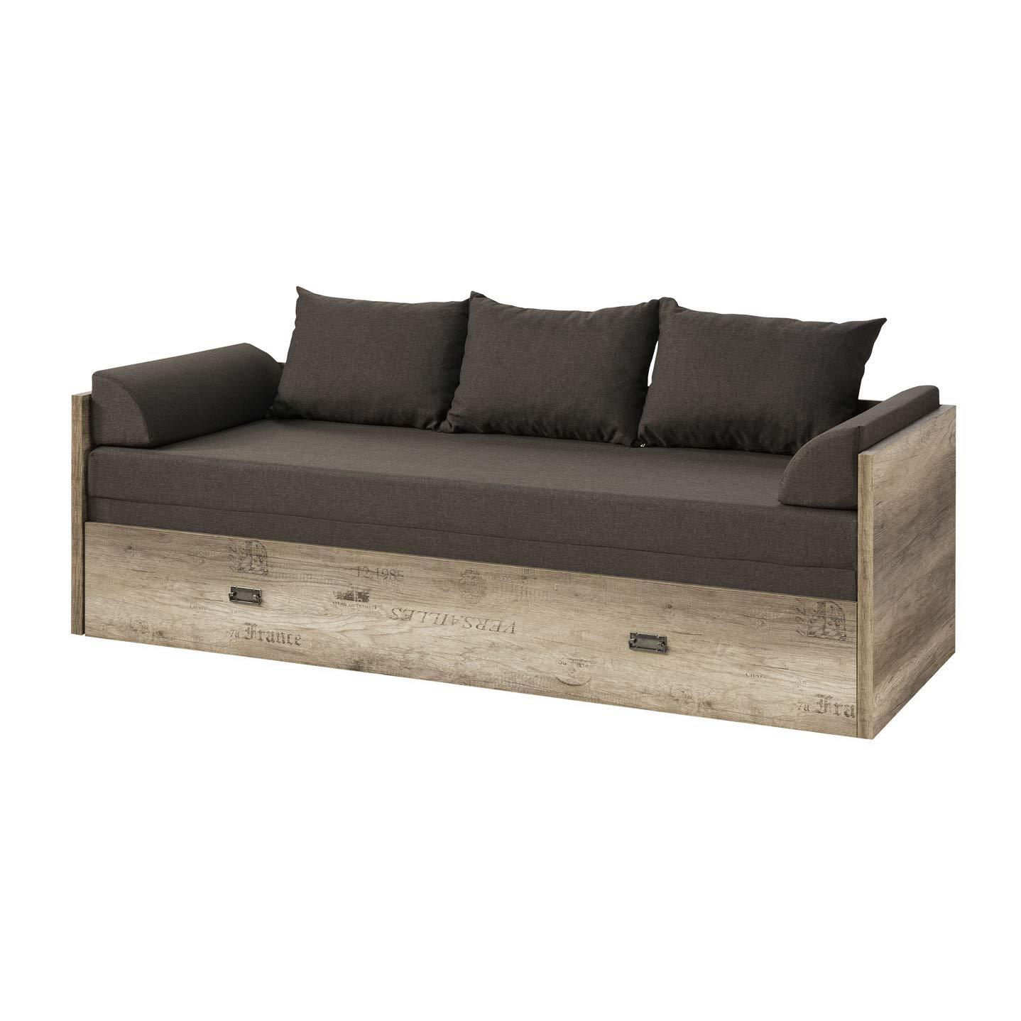 SMARTBett Smart malkolm sofá Cama Extensible 80/160 en Color ...