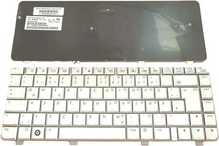 HP Teclado Pavilion DV4-1120 alemán, Color Blanco: Amazon.es ...