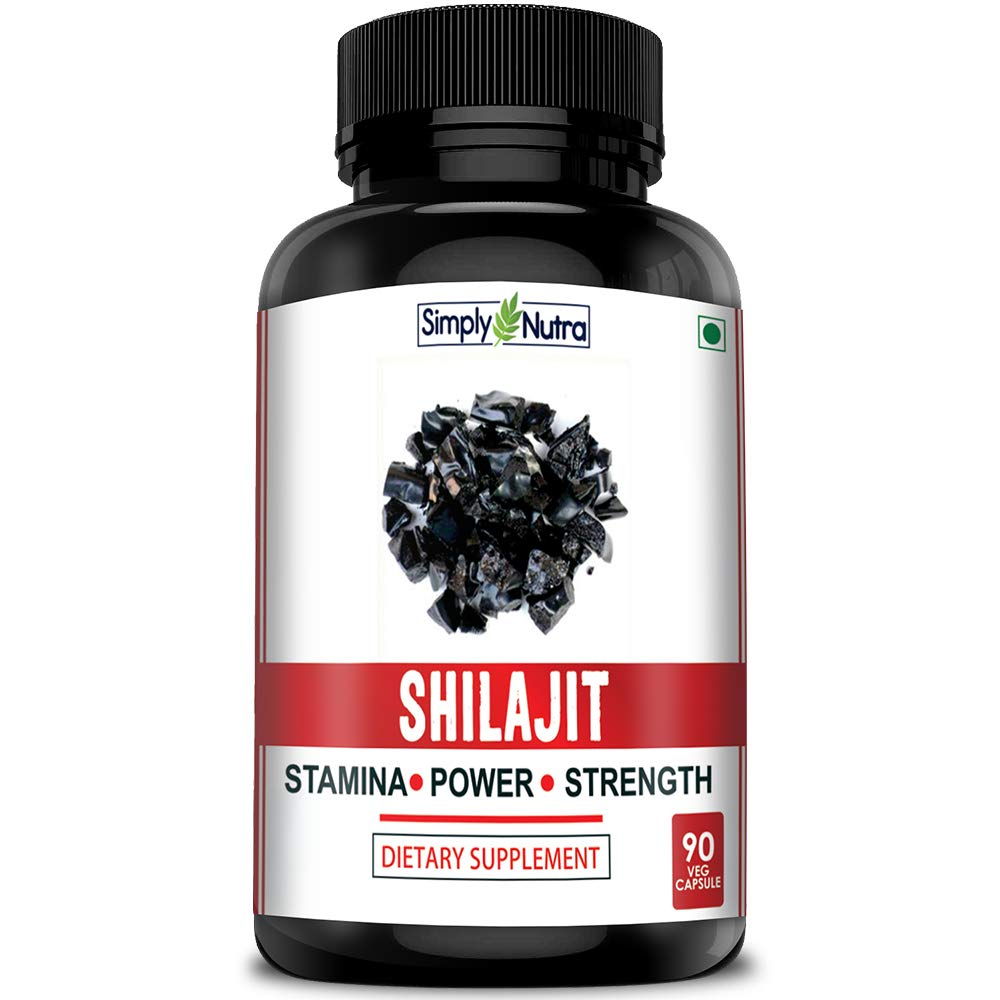 Simply Nutra Shilajit Gold Plus for Extra Strength and Stamina