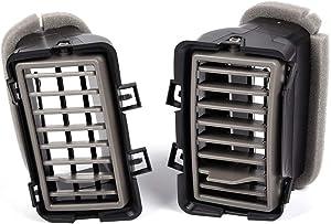 For Nissan Titan SE XE/Armada SE 2004 2005 2006 Dash Outlet A/C Duct Air Vent Charcoal Instrument Panel Air Outlet Deflector Driver & Passenger Side