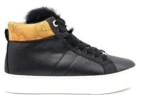 Alviero Martini 1a Classe P3A4 100028 0208X550 Nero Sneakers Polacchine Scarpe  Donna  Amazon.it  Scarpe e borse 67ec1b16014