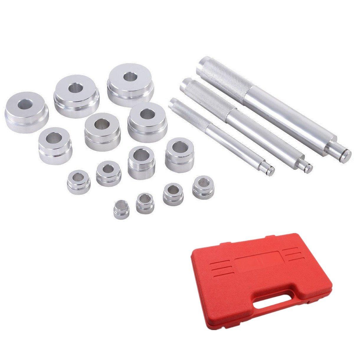 Kit doutils de roulement de roues Outil extracteur roulement de roue extracteur Montage pour lextraction de roulements /à bille LARS360 17tlg