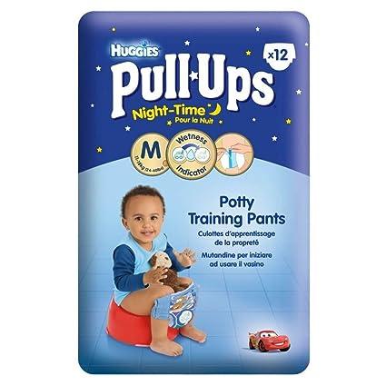 Huggies Pull-Ups Nocturnas Pantalones Insignificantes Del Entrenamiento Para El Tamaño De Los Muchachos 5
